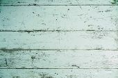 White Wood For Background, White Wooden Boards Background, Top View Of A Wooden Old Table Background poster