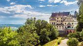 Castle Of Heiligenberg In Linzgau, Germany. This Renaissance Castle Is A Landmark Of Baden-wurttembe poster