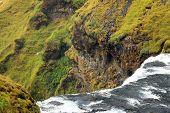 Skogafoss Waterfall, famous natural landmark in Iceland, Europe poster