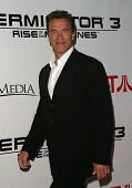 LOS ANGELES - MAY 12: Arnold Schwarzenegger at the Terminator 3: Rise of the Machines - Game Launch