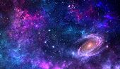 Planets And Galaxy, Science Fiction Wallpaper. Astronomy Is The Scientific Study Of The Universe Sta poster