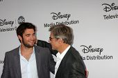 LOS ANGELES - MAY 20:  Joshua Bowman, Henry Czerny arrives at the ABC / Disney International Upfront