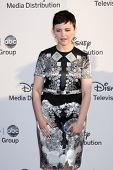 LOS ANGELES - MAY 20:  Gennifer Goodwin arrives at the ABC / Disney International Upfronts at Walt Disney Studios Lot on May 20, 2012 in Burbank, CA
