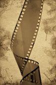 Old Camera Film Strip