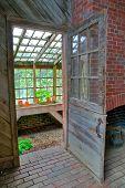 Greenhouse Door