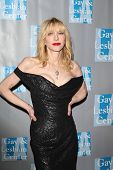 BEVERLY HILLS - MAY 19: Courtney Love at the L.A. Gay & Lesbian Center's 'An Evening With Women held