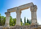 Ruínas do Templo de Corinto, Grécia