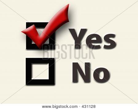 Check box, checkbox, checkmark, mark, tick, vote, yes icon |Check Box Yes