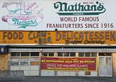 :The Nathan's rebuilding after damage by Hurricane Sandy