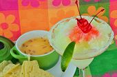 Margarita With Chips And Dip