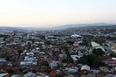 Skyline Of Tbilisi