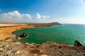 Oceano paisagem em La Guajira