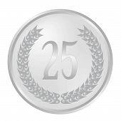 25Th Anniversary Laurel Wreath