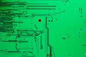 The Old Electronic Circuit Boards Texture Background