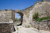 Chufut-kale, Spelaean City -- Fortress. Street