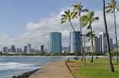 Ala Moana Beach Park, Hawaii.
