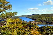 picture of fanny  - High angle view of Lake Fanny Hooe in Upper Penninsula Michigan - JPG