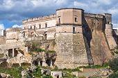 Castle of Massafra. Puglia. Southern Italy.