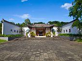The Entrance Plaza Of Sirindhon Chinese Cultural Center, Mae Fah Luang University, Chiang Rai, Thail
