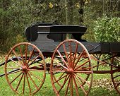 Old horse wagon