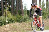 Triathlete James Bonney