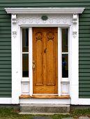 pic of front door  - heritage home door - JPG