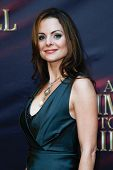 NEW YORK- OCT 20: Actress Kimberly Williams-Paisley attends the Broadway opening night of 'A Time To