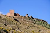 Arabic Fortress, Tabernas, Spain.