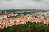 View From Petrin Lookout Tower, Prague - Czech Republic