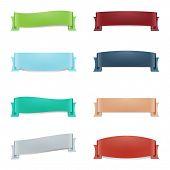 Multicolored Ribbon Set