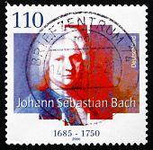 Postage Stamp Germany 2000 Johann Sebastian Bach, Composer