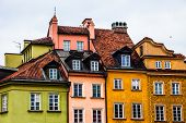 Old Town In Warsaw, Poland.