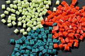 Dyed Polymer Resin