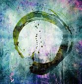 Hand Painted Enso Symbol