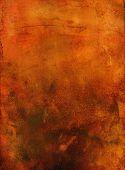 Orange Art Grunge