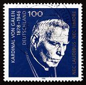 Postage Stamp Germany 1996 Cardinal Von Galen