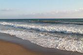 Sea waves in Mediterranean