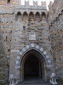 Albertis Castle In Genoa Italy
