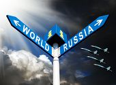 Militaristic Russia Against The World