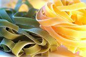 Close-up Italian Pasta
