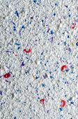 Washing Powder Texture With Blue And Red Disseminations