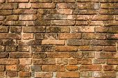 Old Brick Layer On The Wall