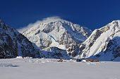 Base camp Mount McKinley