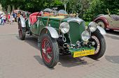 Beautiful Retro Cars On Display In The Bogdan Khmelnitsky Park In Lvov