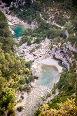 The Verdon Gorge In South-eastern France,