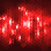 Vector abstract background consisting of triangles