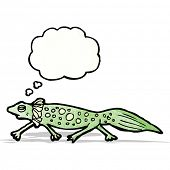 picture of newt  - cartoon newt - JPG