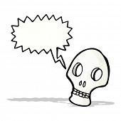 shrieking skull symbol