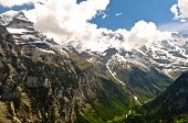 Beautiful Alps Landscape