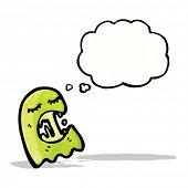 gross ghost cartoon